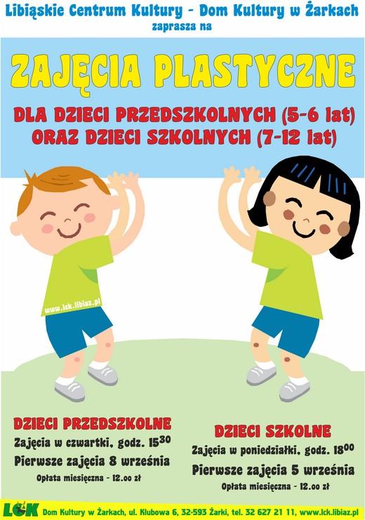 Zajęcia dla dzieci w Żarkach