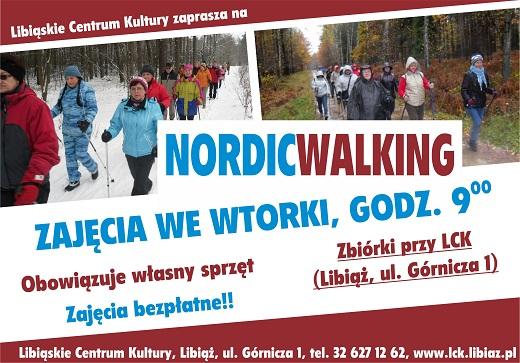 Zajęcia z Nordic Walking w LCK