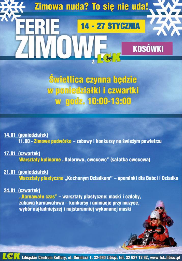 Ferie 2019 w Kosówkach