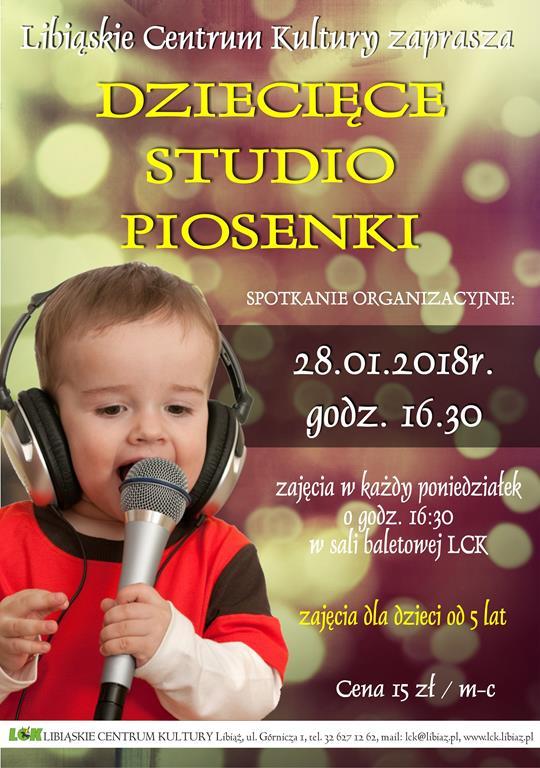Dziecięce Studio Piosenki w LCk