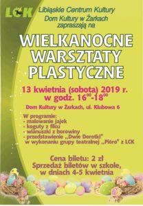 Wielkanocne warsztaty plastyczne w Żarkach