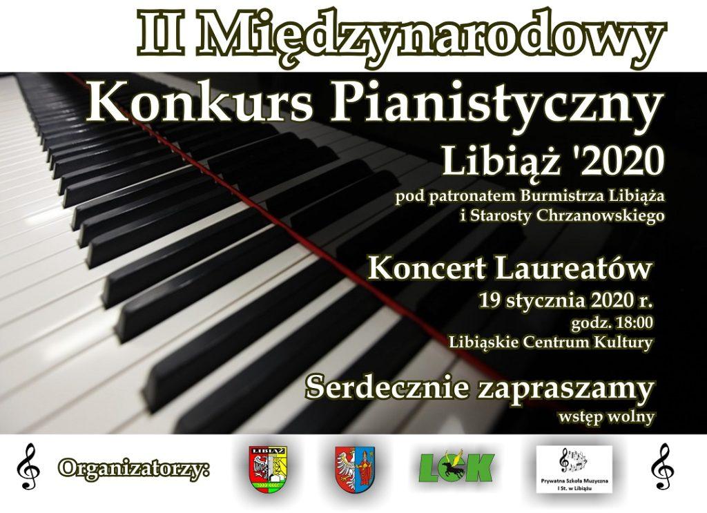 II Międzynarodowy Konkurs Pianistyczny Libiąż 2020