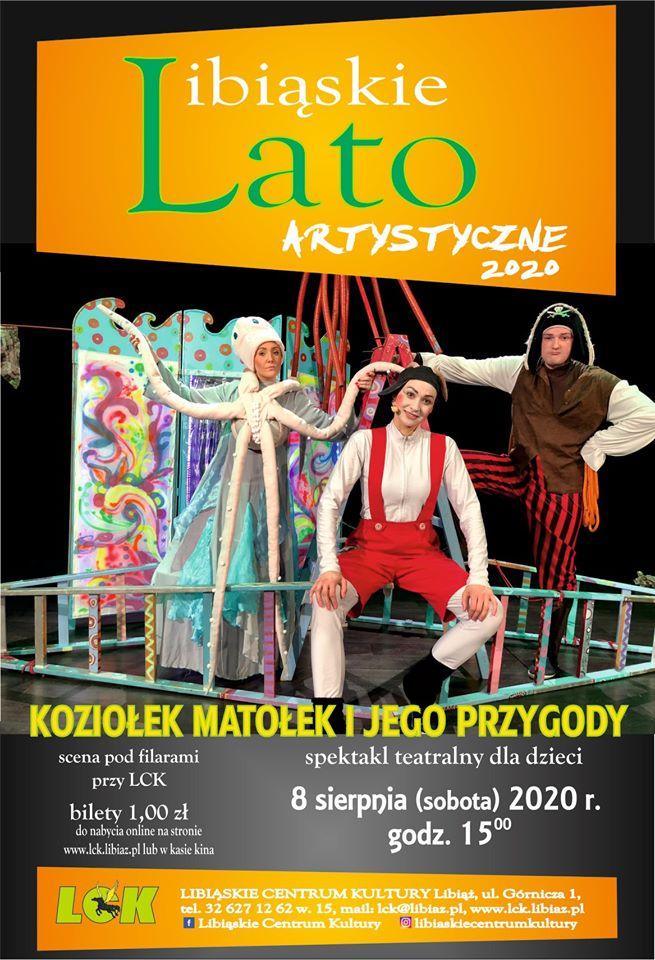 """Libiąskie Kino Artystyczne - """"Koziołek Matołek i jego przygody"""""""