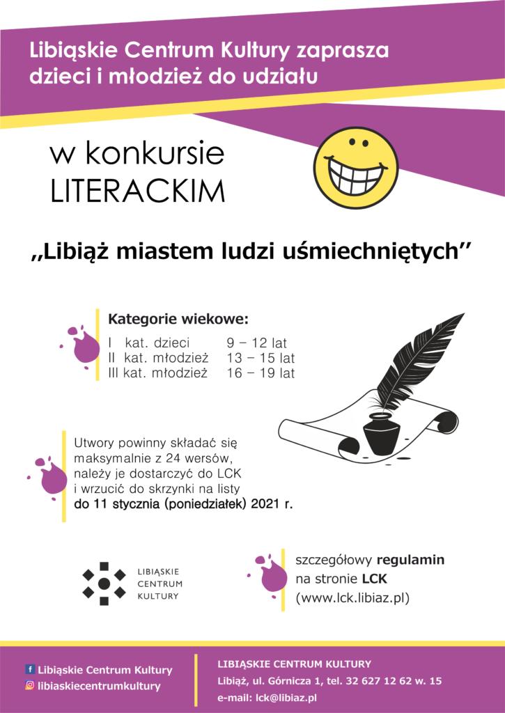 Libiąż miastem ludzi uśmiechniętych - Konkurs literacki