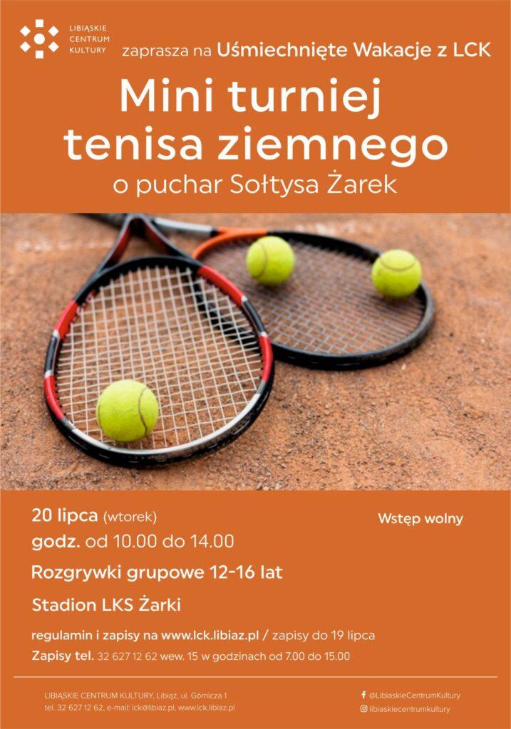 Mini turniej tenisa ziemnego